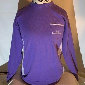 Purple Lauren James sweatshirt